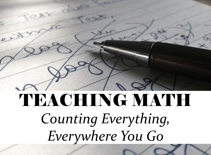 OR - Teaching Math - Counting Everything, Everywhere You Go - CB - HSLDA Blog