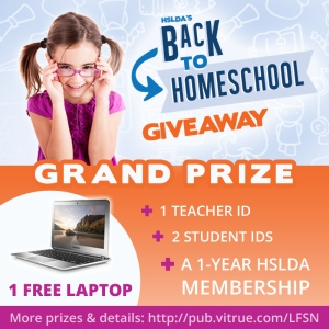 Back to Homeschool - GIVEAWAY and Ideas 6 - CK - HSLDA Blog
