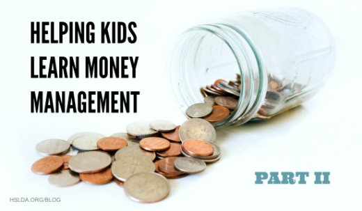BLG SZ - Helping Kids Learn Money Management (Part 2) - AK - HSLDA Blog