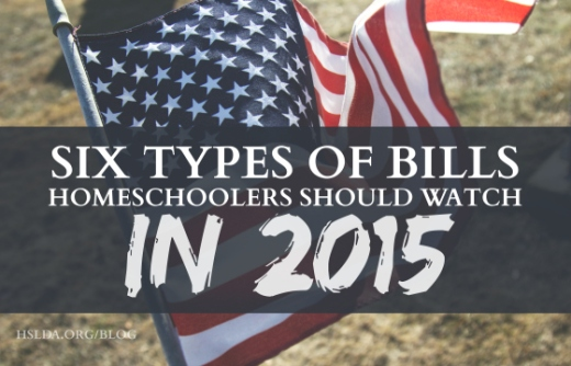 BLG SZ - Six Types of Bills Homeschoolers Should Watch in 2015 - Andrew Mullins - HSLDA BLOG