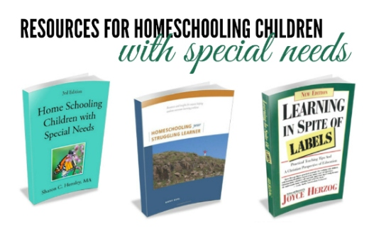 BLG SZ - Something Just For You - resources for homeschooling children with special needs - KW - HSLDA Blog