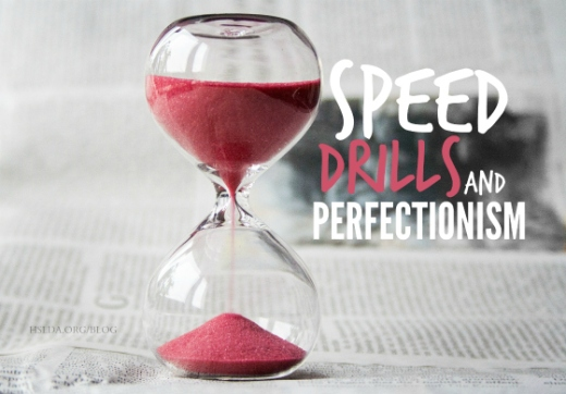 BLG SZ - Speed Drills and Perfectionism - JC - HSLDA Blog