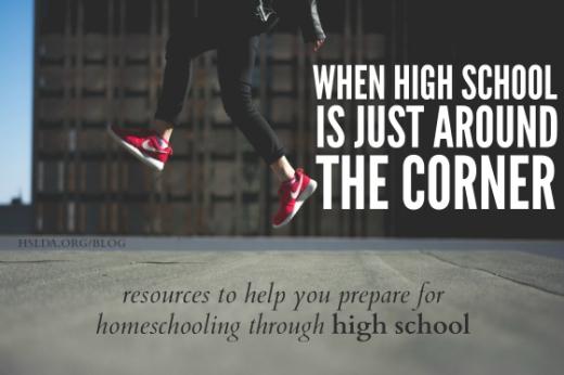 BLG SZ - When High School is Just around the Corner - Carol B - HSLDA Blog