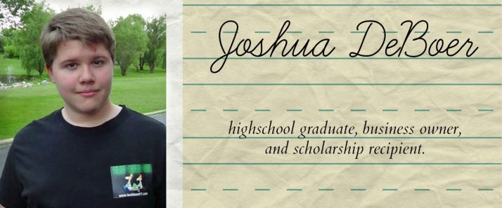 Bright Spots - Highschool Graduate, Business Owner, and Scholarship Recipient - CK - HSLDA Blog
