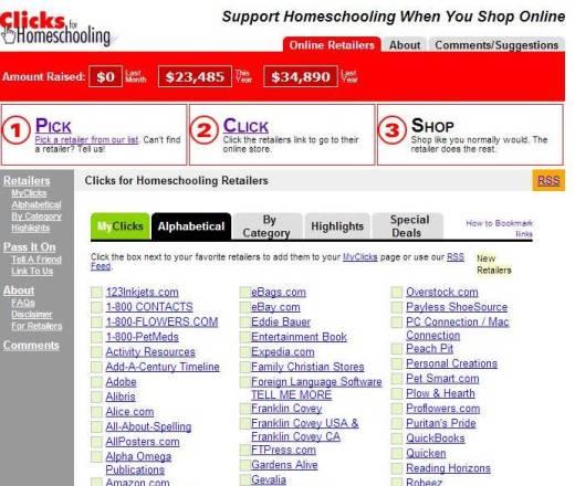 Clicks for Homeschooling 2 - CK - HSLDA Blog