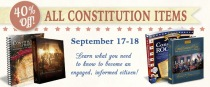 CLOSED - Giveaway & Sale - Constitution Day 2 - CK - HSLDA Blog