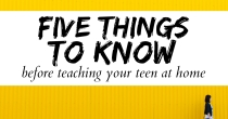 Five Things to Know Before You Teach Your Teen at Home | HSLDA Blog