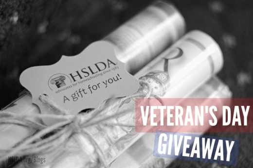 Honoring Our Veterans - GIVEAWAY and Membership Offer 2 - CK - HSLDA Blog