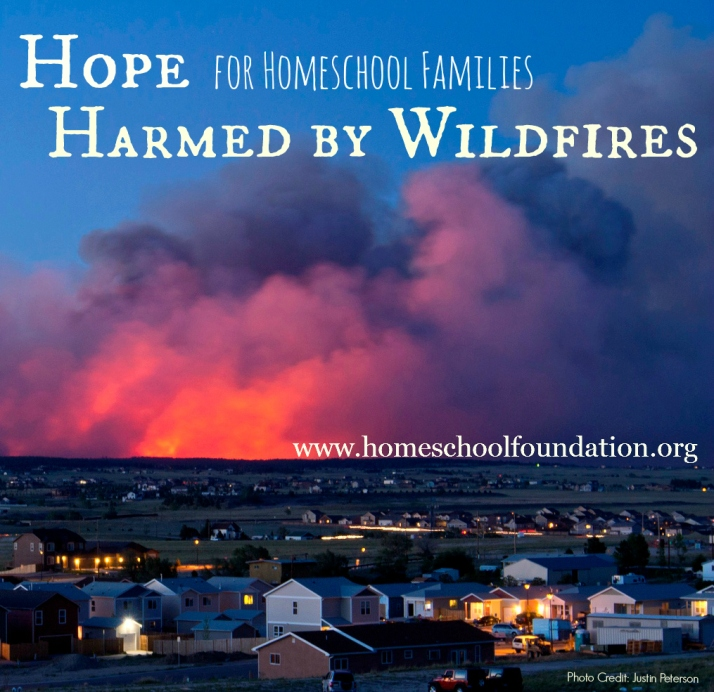 Hope for Colorado Homeschool Families Harmed by Wildfires - CK - HSLDA Blog