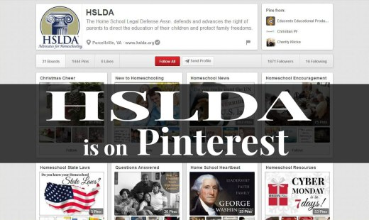 HSLDA is on Pinterest 2 - CK - HSLDA Blog