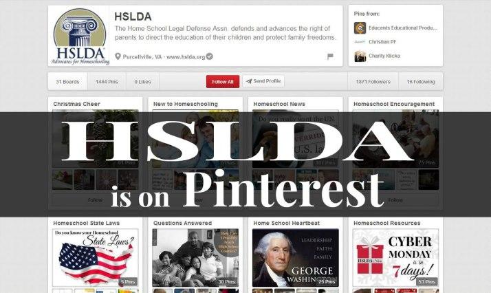 HSLDA is on Pinterest 2 - CK - HSLDA Blog