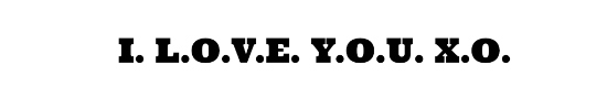 I LOVE YOU XO - HSLDA Blog
