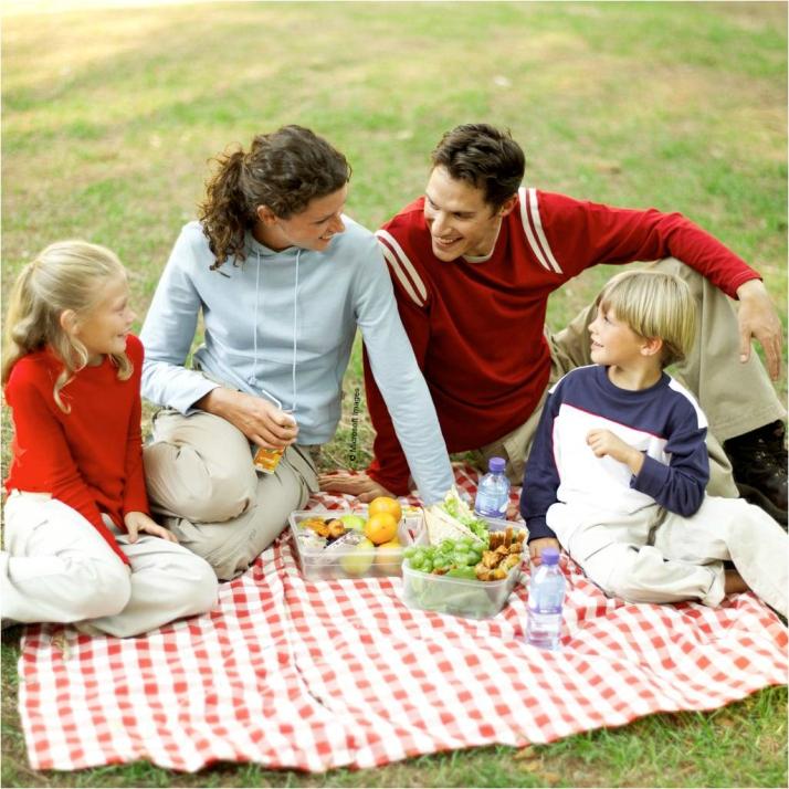 In the Evening at Sunset - Having Meals Together - MG - HSLDA Blog