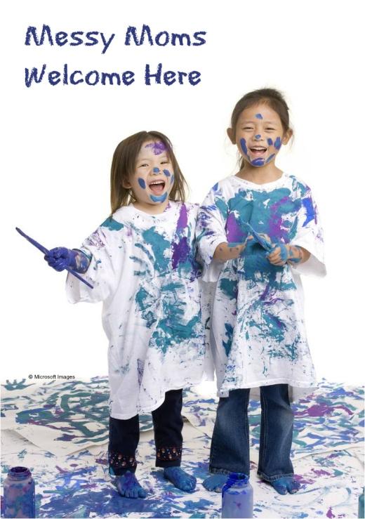 Messy Moms Welcome Here | HSLDA Blog