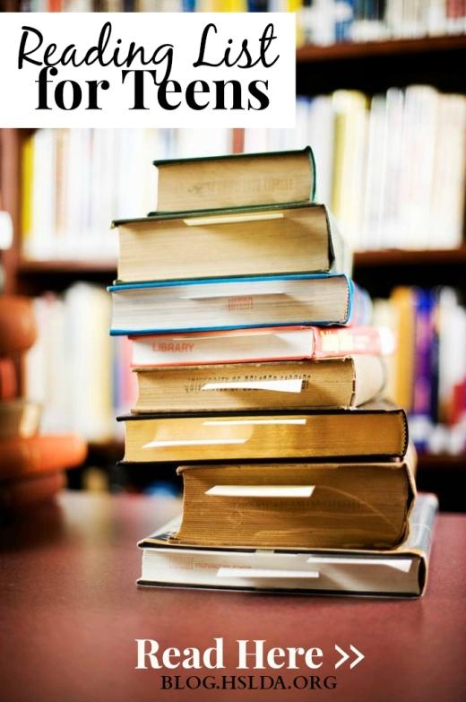 Teen Reading Lists 54