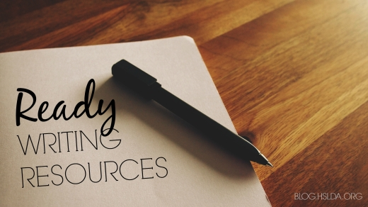 Ready Writing Resources | HSLDA Blog