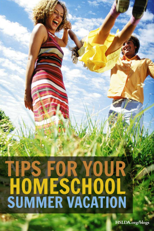 Summer Fun and Learning | Tips for Your Homeschool Summer Vacation | HSLDA Blog