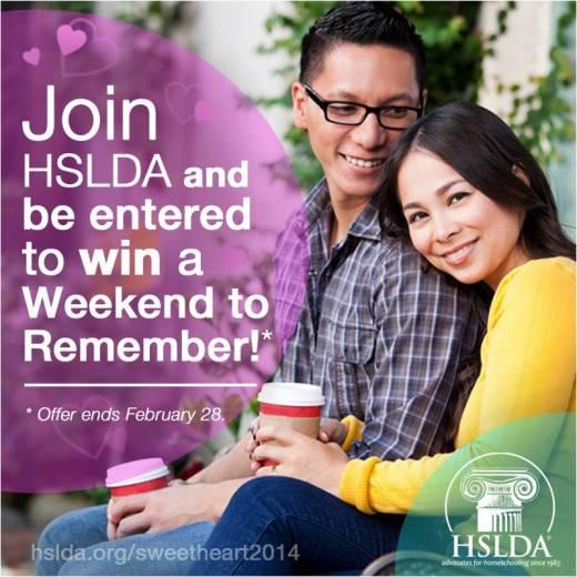 Weekend to Remember - HSLDA Giveaway - CK - HSLDA Blog