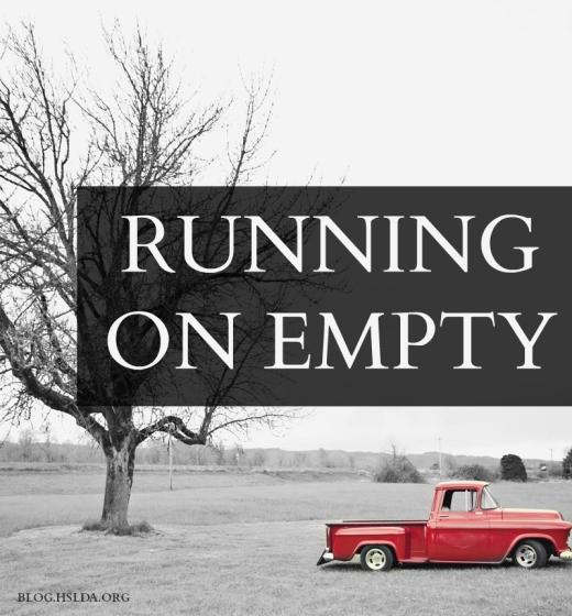 Running on Empty | HSLDA Blog