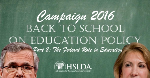 Presidential Candidates go Back to School on Education Policy in New Hampshire PART 2 | HSLDA Blog