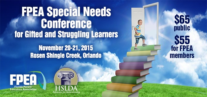 3rd Annual Special Needs Struggling Learner Homeschool Conference | HSLDA Blog