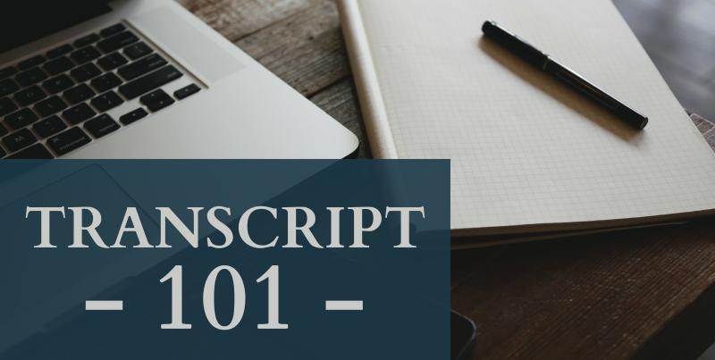 BLG SZ - Transcript 101 - Carol Becker - HSLDA Blog