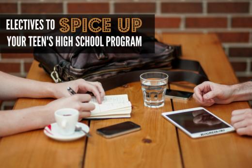 Electives to Spice Up Your Teens High School Program   HSLDA Blog