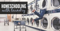 Homeschooling with Laundry   HSLDA Blog