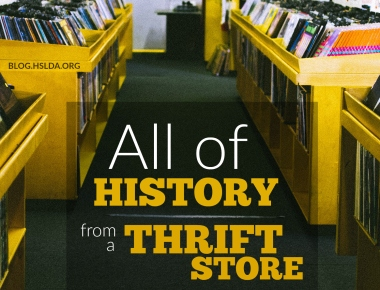 All of History from a Thrift Store   HSLDA Blog