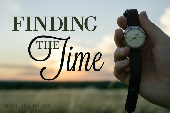 Finding the Time | HSLDA Blog