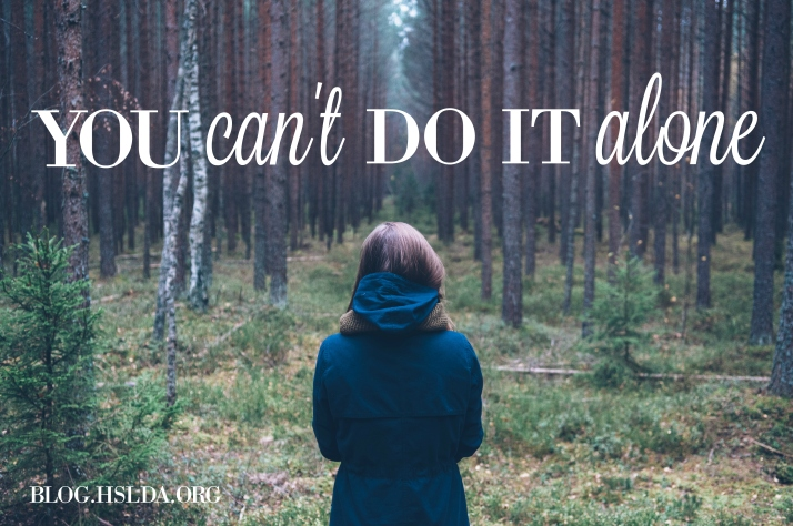You Can't Do This Alone   HSLDA Blog