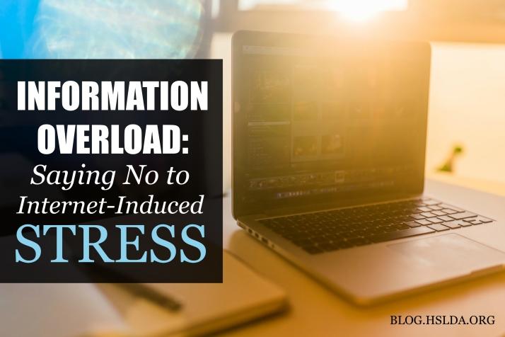 Information Overload - Jessica Cole - HSLDA Blog