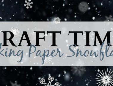 Craft Time: Making Paper Snowflakes | HSLDA Blog