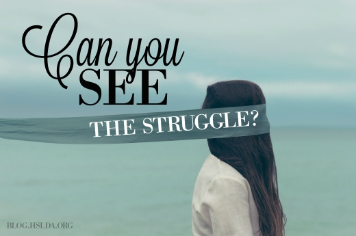 can you see the struggle - kristy horner - hslda blog