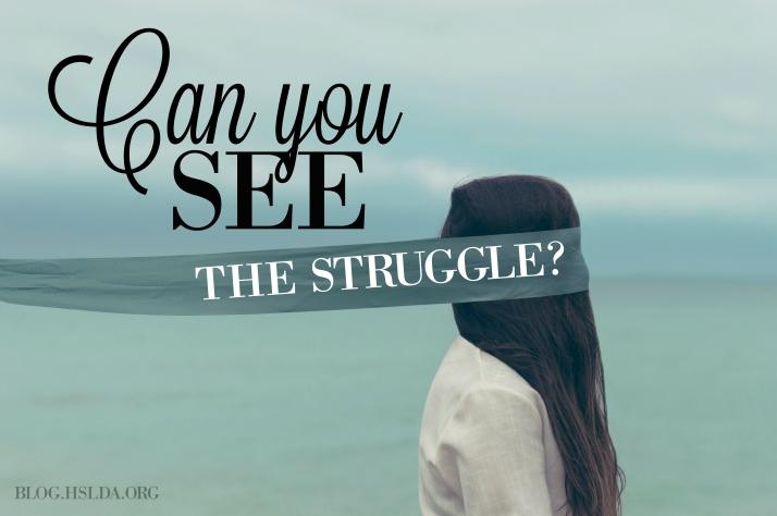 can you see the struggle - kristy horner - hslda blog