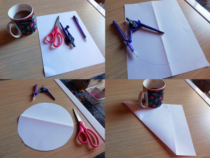 Craft Time Making Paper Snowflakes 1 - Carolyn Bales - HSLDA Blog