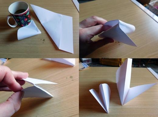 Craft Time Making Paper Snowflakes 2 - Carolyn Bales - HSLDA Blog