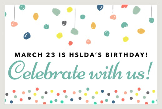 Celebrate HSLDA's Birthday with Giveaways!   HSLDA Blog