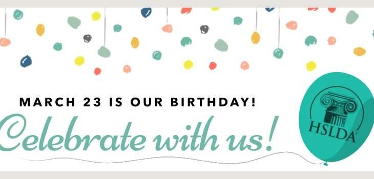 Celebrate HSLDA's Birthday with Giveaways! | HSLDA Blog