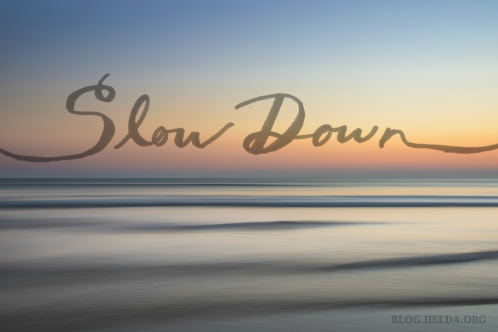 OR - Slow Down - Jessica Cole - HSLDA Blog