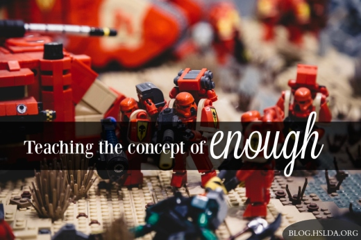 BLG SZ -Teaching-the-concept-of-enough–Amy-Koons–HSLDA Blog