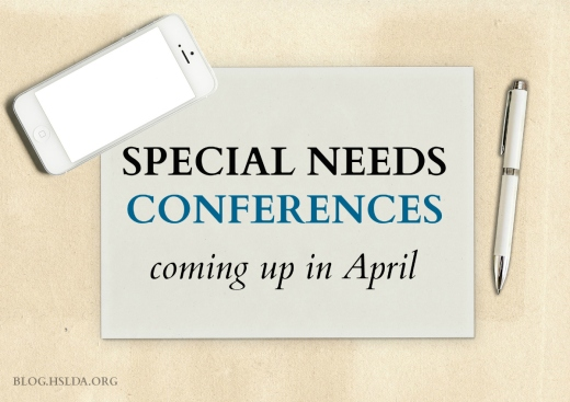 Conferences Coming Up in April | HSLDA Blog