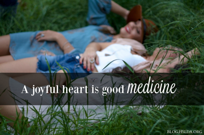 WU IM - A Joyful Heart Is Good Medicine –Stacey Wolking – HSLDA Blog