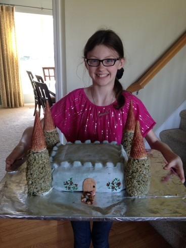 The Tale of a Castle Cake | HSLDA Blog
