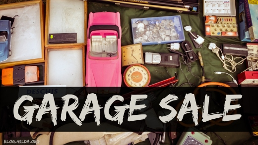 OR - Garage Sale - Amy Koons - HSLDA Blog