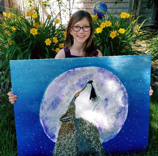 Endangered Animals Inspire 9-Year-Old Artist, Activist | HSLDA Blog