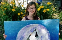 BLG SZ - 9-year-old artist and activist 1 - Dave Dentel - HSLDA Blog