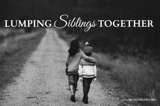 Lumping Siblings Together | HSLDA Blog