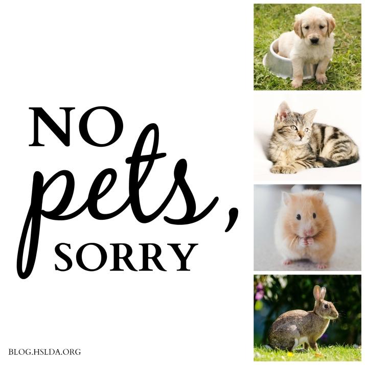 No Pets, Sorry   HSLDA Blog
