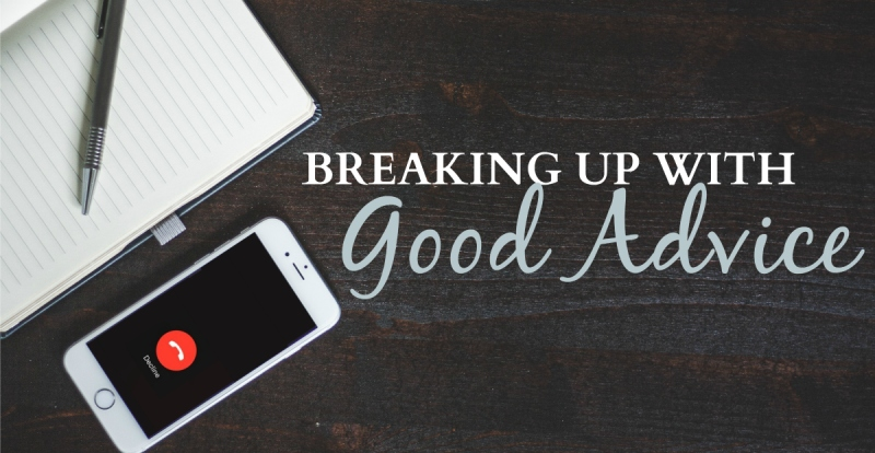Breaking Up with Good Advice | HSLDA Blog